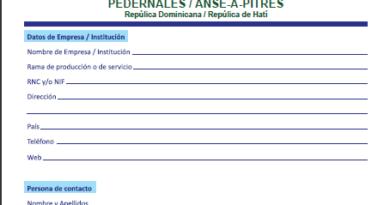 Formulario de Inscripción 25fe